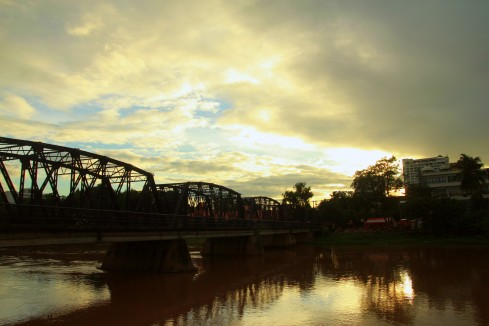 The iron bridge, Ping River